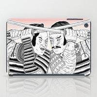 Samurai Duel iPad Case