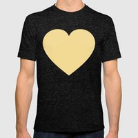 Groove Is In The Heart V Mens Fitted Tee Tri-Black SMALL