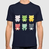 Frogs Mens Fitted Tee Navy SMALL