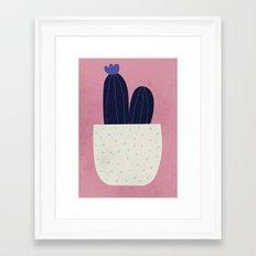 Cactus Pink Framed Art Print