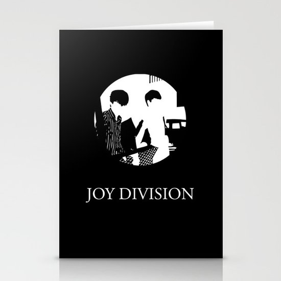 Joy Division Design Stationery Card
