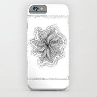 iPhone & iPod Case featuring Jellyfish Star I B&W by Felipe B. C. Gama