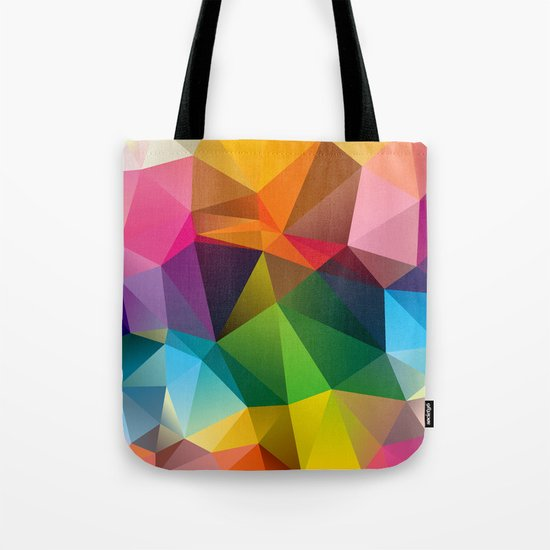 Geometric view Tote Bag