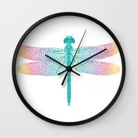 dragonfly v1 Wall Clock