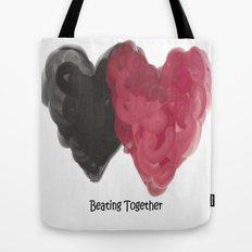 Beating Together Tote Bag