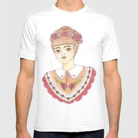 Rosa Mens Fitted Tee White SMALL