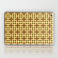 Pattern Yellow Laptop & iPad Skin