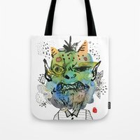 Monster Me Tote Bag