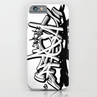 "iPhone & iPod Case featuring 3D graffiti - PRAGA by ""ondbiqp"""