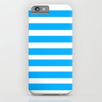 iPhone & iPod Case featuring Blue Lines by Jason Michael