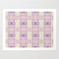 Fuzzy Kaleidoscope Art Print