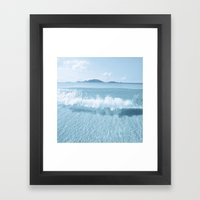 Clear Water Framed Art Print