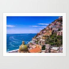 Love Of Positano Italy Art Print