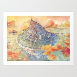 Art Print - The Castle - Luca Massone