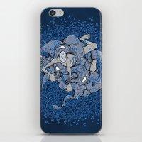In deep iPhone & iPod Skin