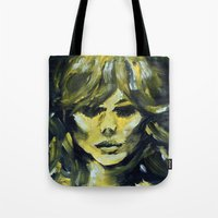 THE YELLOW QUICK PORTRAI… Tote Bag