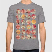 Inkblot Quilt - by Garima Dhawan and Joy StClaire Mens Fitted Tee Tri-Grey SMALL