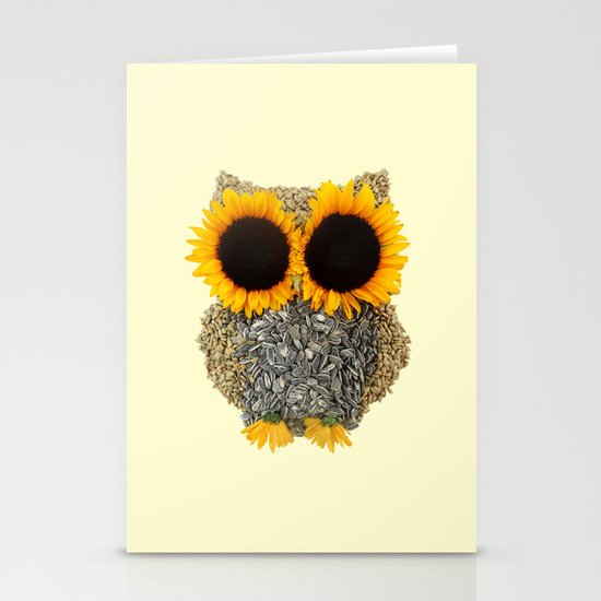 Hoot! Day Owl! Stationery Card