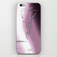 Woman Emerging (e) iPhone & iPod Skin