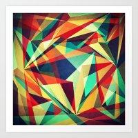 Broken Rainbow Art Print