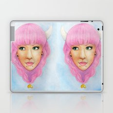 Bubblegum Queen Laptop & iPad Skin