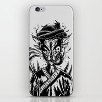 Hermit Cat iPhone & iPod Skin
