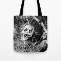 Shattered Scream  Tote Bag