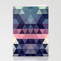 Triangle Space Stationery Cards