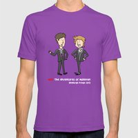 Not The Adventures Of Mo… Mens Fitted Tee Ultraviolet SMALL