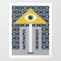 OBSERVATORY Art Print