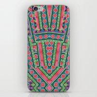 watermelon tribe iPhone & iPod Skin