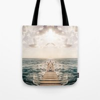 Kaleidoscape: Caye Caulk… Tote Bag