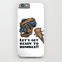iPhone & iPod Case featuring Lets Get Ready To Rumble! by Silentwolf