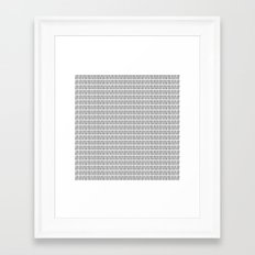 Whisk it up! Framed Art Print