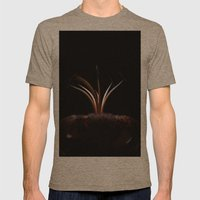 The Night Garden Mens Fitted Tee Tri-Coffee SMALL