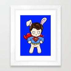 SuperBun Framed Art Print