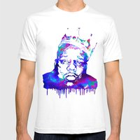 Notorious Mens Fitted Tee White SMALL