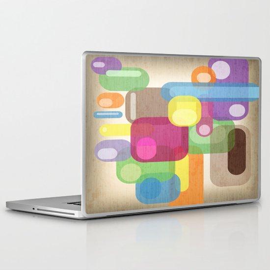 Retro Make'a Me Smile.  Laptop & iPad Skin