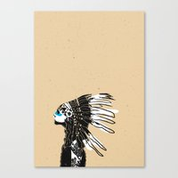 NATIVES Canvas Print