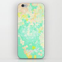 floral 011. iPhone & iPod Skin