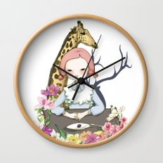Jenny Eat Breakfast Wall Clock