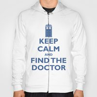Keep Calm And Find The D… Hoody