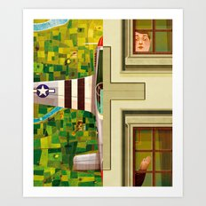 Aviator Art Print