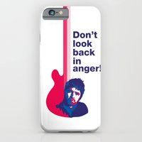 iPhone & iPod Case featuring Noel Gallagher - Don't Look Back In Anger by Diego Maricato