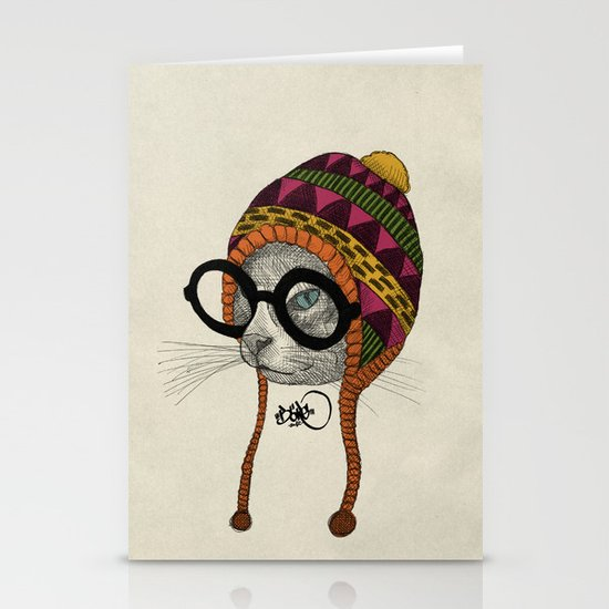 foolishness is in the eye of the beholder Stationery Card