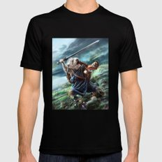 Bruno The Brave Mens Fitted Tee Black SMALL