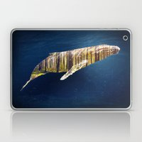 A Whale Dreams Of The Fo… Laptop & iPad Skin