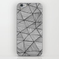 Angular Stripes iPhone & iPod Skin