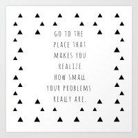 Small Problems Art Print
