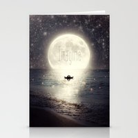 Imagine - Second Date  Stationery Cards